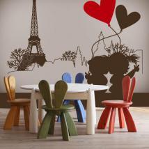 Romantique vinyle décoratifs Paris
