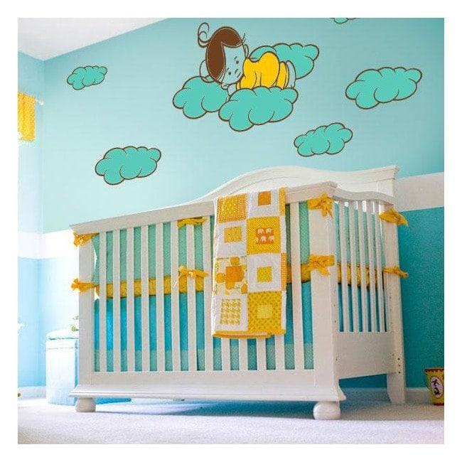 Panneaux luminescents de démarcation fluowall doux rêves enfants