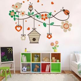 Nature romantique vinyle décoratif