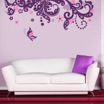 Vinyle décoratif Floral Fantasy