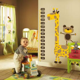 Girafe en vinyle pour enfants mètre de hauteur