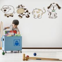Animaux de vinyle pour enfants Kit