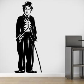 Vinyle décoratif Charles Chaplin