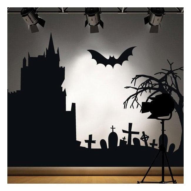 Vinyle décoratif 2014 Halloween