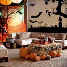 Autocollants et vinyle Halloween