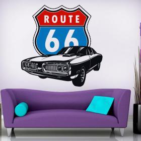 Route de vinyle décoratif 66