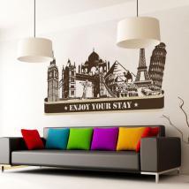 Villes de vinyle Profitez de votre séjour