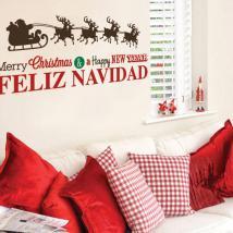 Vinyle Noël bonne année