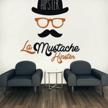 Vinyle rétro Hipster