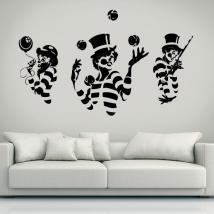 Vinyle silhouettes mimes