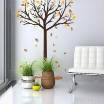 Vinyle décoratif arbre automne