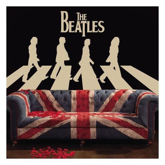 Autocollants et vinyle The Beatles Abbey Road