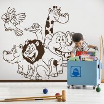 Vinyle pour enfants animaux de Zoo