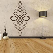 En filigrane décoratif adhésif vinyle