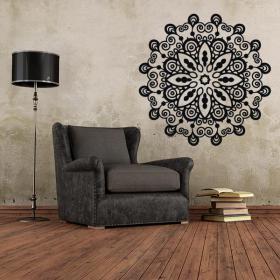 Rosette décorative de vinyle