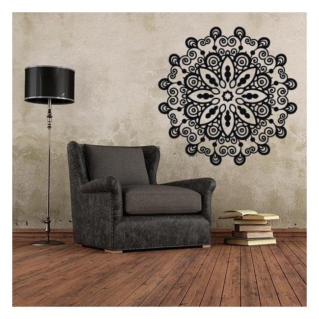 Rosette décorative de vinyle French 906