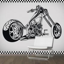 Vinyles adhésifs et autocollants moto Chopper