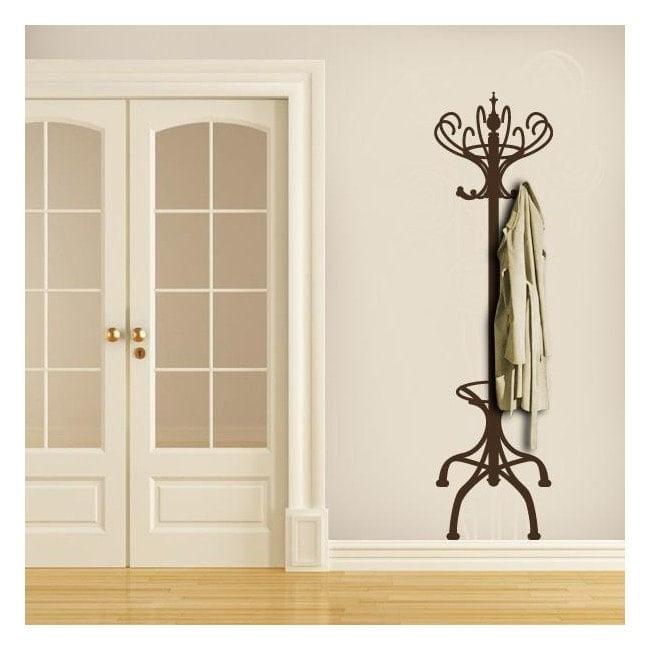 portemanteau d coratif ou vinyle vintage hanger french 956. Black Bedroom Furniture Sets. Home Design Ideas