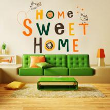 Décoratif vinyl et autocollant Home Sweet Home