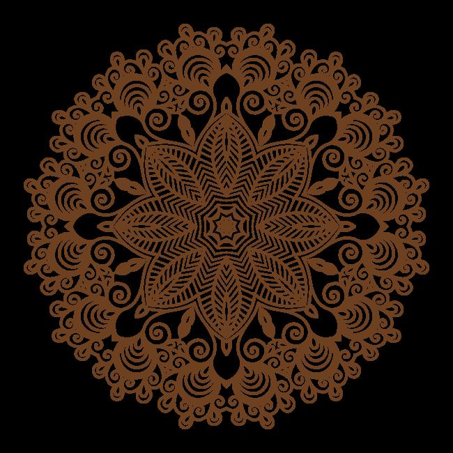 Adh Sif D Coratif Vinyl Mandala