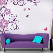 Vinyle décoratif et des Stickers fleurs