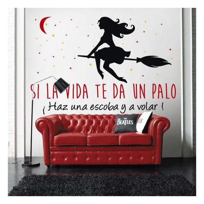 Vinyle décoratif et motivation de Stickers phrases