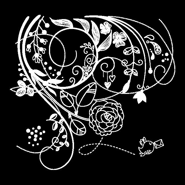 fleurs de mur en vinyle de l 39 amour. Black Bedroom Furniture Sets. Home Design Ideas