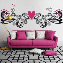 Murs décoratifs en vinyle avec une touche d'amour