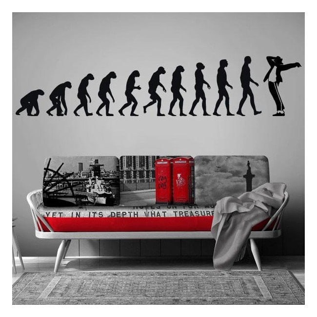 Evolution de vinyle décoratif Jackson