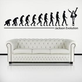 Décoratif vinyl Michael Jackson Evolution