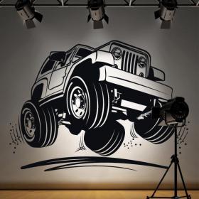 Décoratif vinyl Jeep