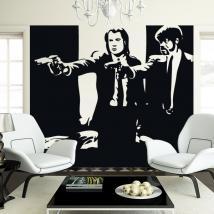 Vinyle adhésif décoratif Pulp Fiction