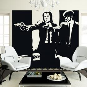 vinyle adh sif d coratif pulp fiction. Black Bedroom Furniture Sets. Home Design Ideas