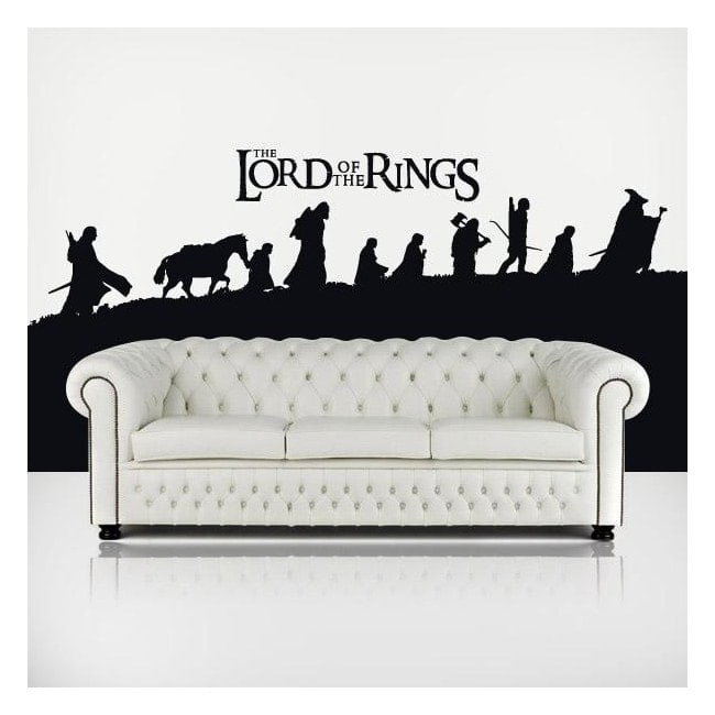 Le vinyle décoratif du Seigneur des anneaux