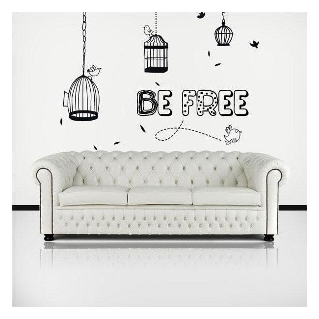 Vinyle décoratif Be Free