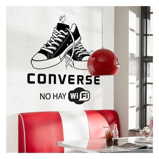 Vinyle décoratif ne parler aucun Wifi