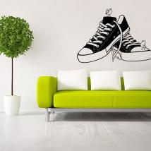 Décoratif vinyl Retro Shoes