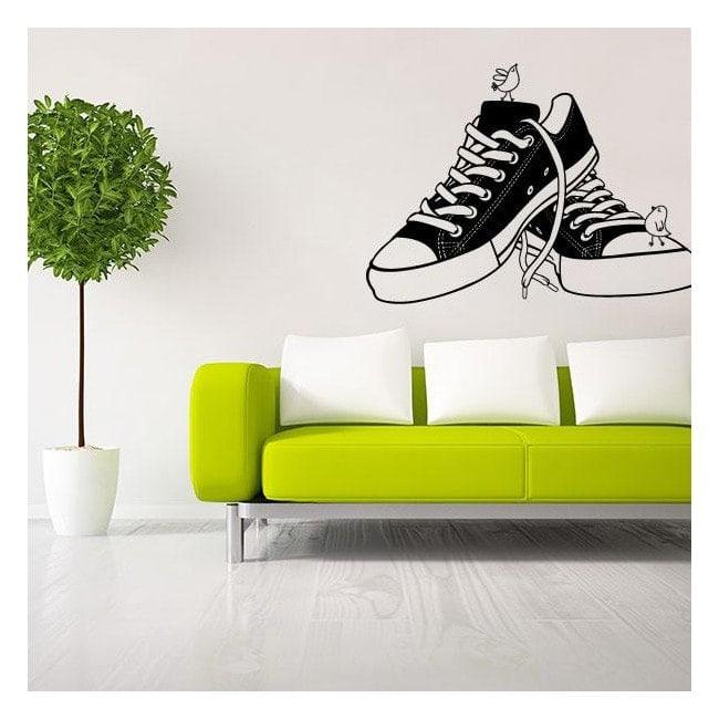 Décoratif vinyl Retro Shoes