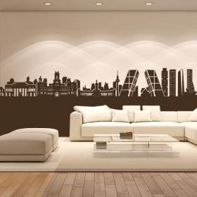 Vinyle adhésif décoratif Skyline Madrid