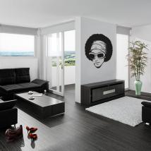 Vinyle décoratif style rétro