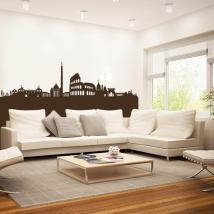 Décoratif vinyl Rome Skyline