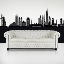 Décoratif vinyl Dubai Skyline