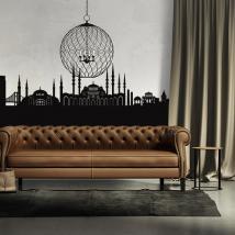 Décoratif vinyl Skyline Istanbul
