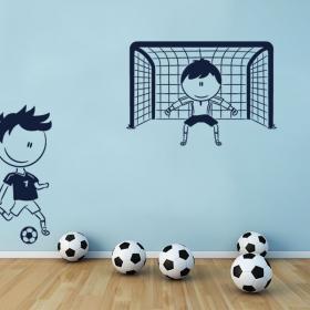 Football pour enfants en vinyle décoratif