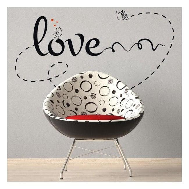 Décorer les murs amour phrases amour
