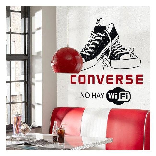Décoratif vinyl pas il est Wifi
