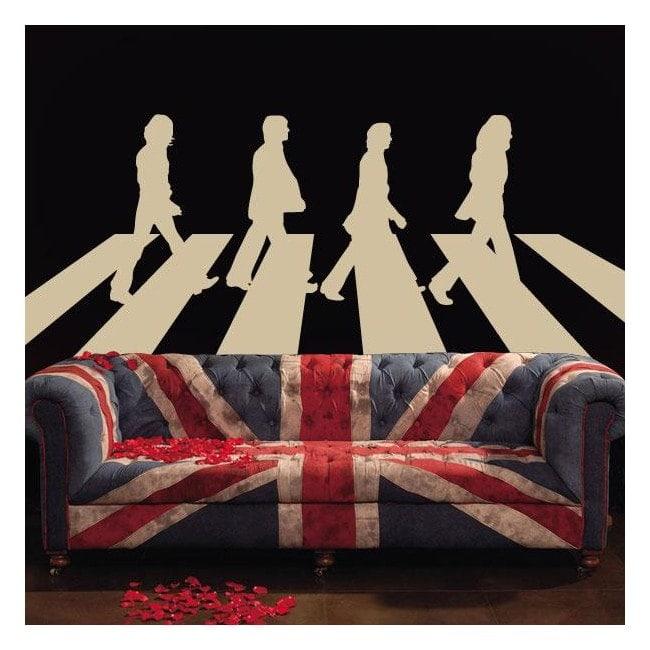 Décoratif vinyl The Beatles Abbey Road