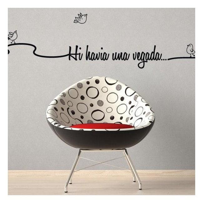 Phrases décoratifs de vinyle fois