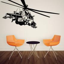 Panneaux luminescents divisant fluowall hélicoptère