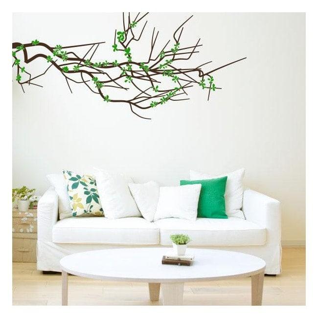 Branche florale de vinyle